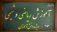 روزبه مسعودی - تدریس شیمی و ریاضی